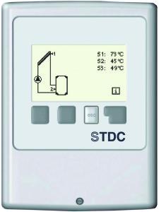 Controler panou solar STDC E